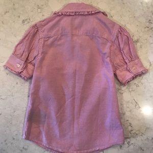 Ralph Lauren Shirts & Tops - Ralph Lauren Pink button up collard shirt- size 5